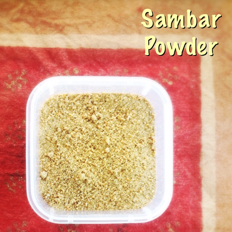 Sambar Powder | Indian | Masalas | Vegetarian | Heat in The Kitchen