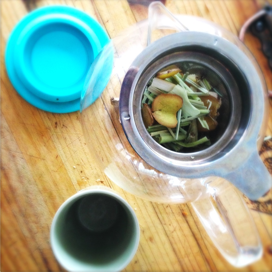 Balinese Ginger and Lemongrass Tea