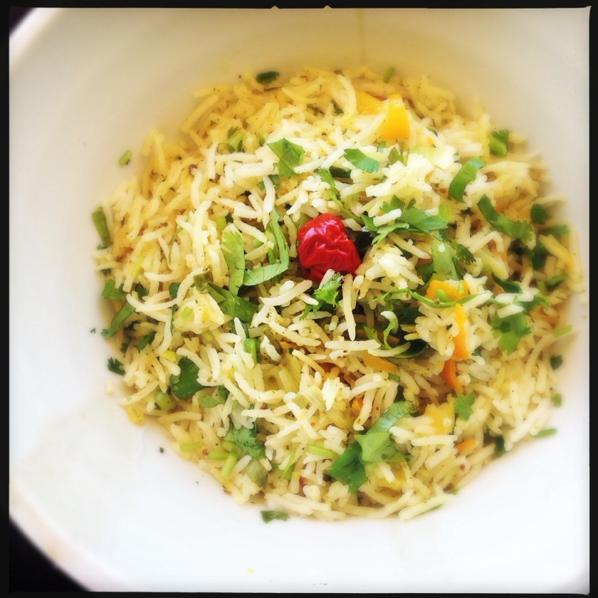 Cumquat and Spring Onion Rice | Heat in The Kitchen | Rice | Vegetarian Recipes