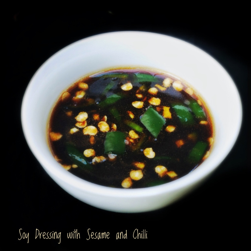 Salad Dressing with Soy and Sesame | Dipping Sauce with Soy and Sesame