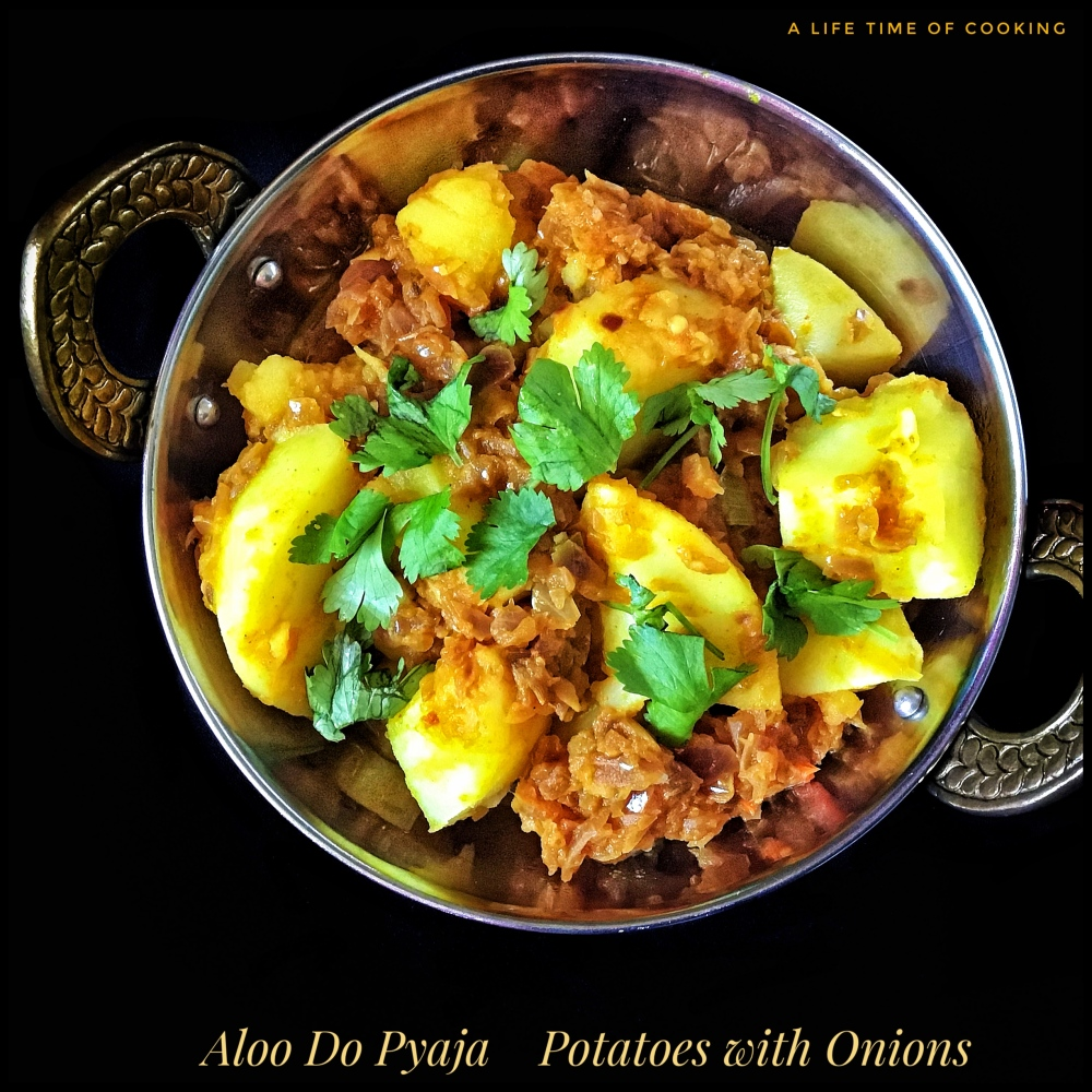 Recipe: Aloo Do Pyaja | Potatoes with Onions