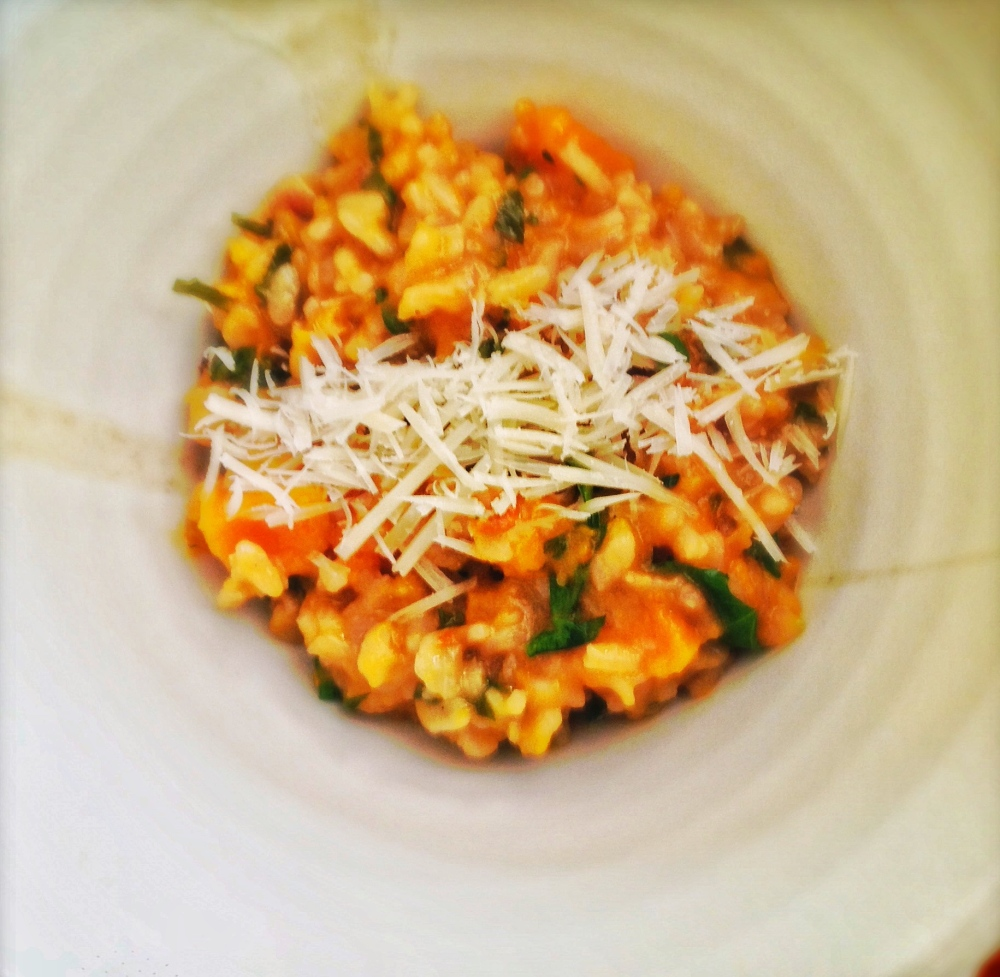 Caramelised Roasted Pumpkin Risotto