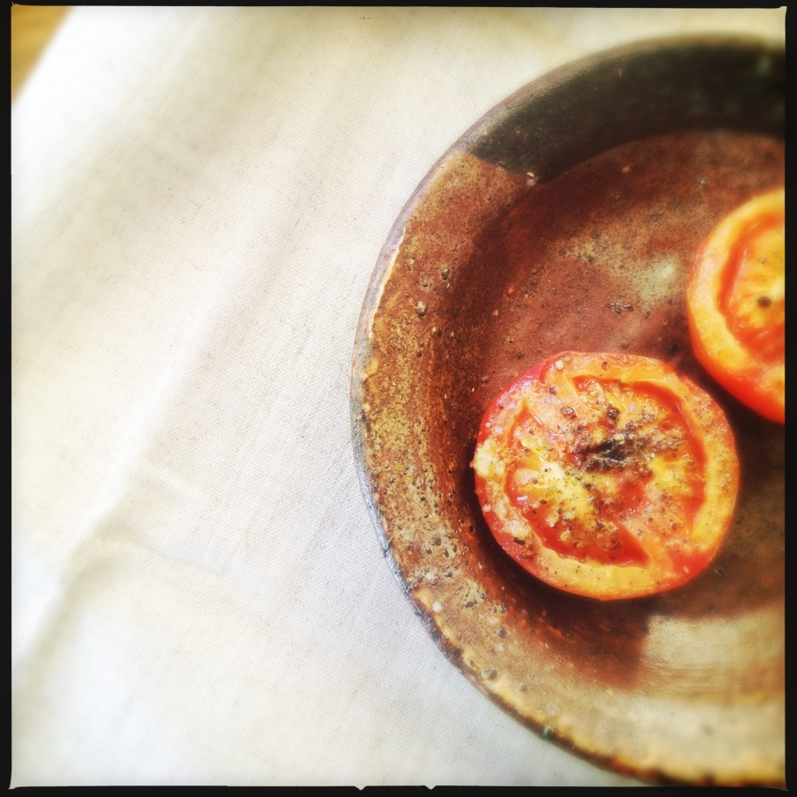 Oven Baked Tomatoes | Heat in The Kitchen