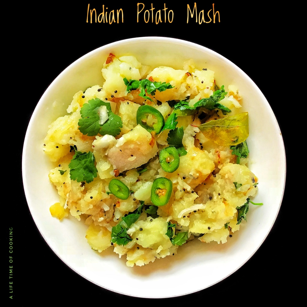 Indian Mashed Potatoes