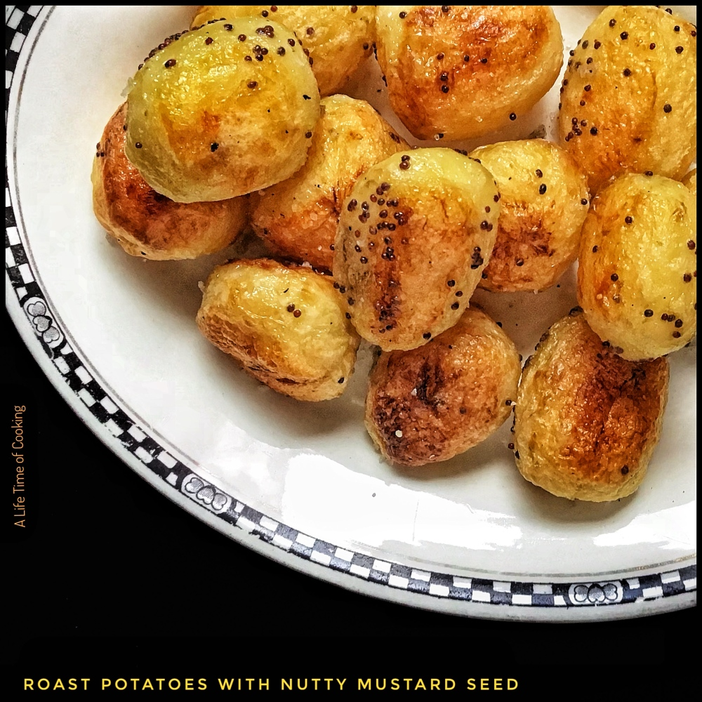 Roasted Potatoes with Mustard Seed
