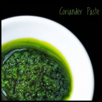 Ingredients: How to Make Coriander Paste | Cilantro Paste