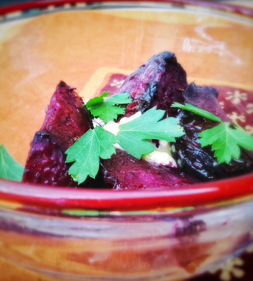 Baked Beetroot with Cumin