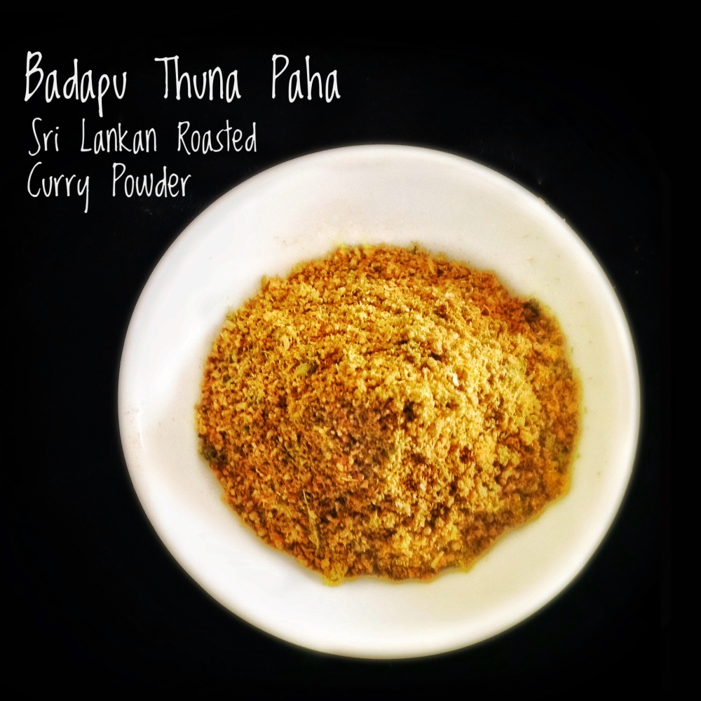 Badapu Thuna Paha | Sri Lankan Curry Powder