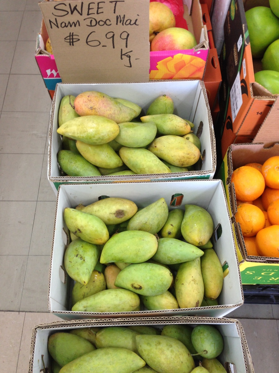 Thai Mango Varieties Pictures