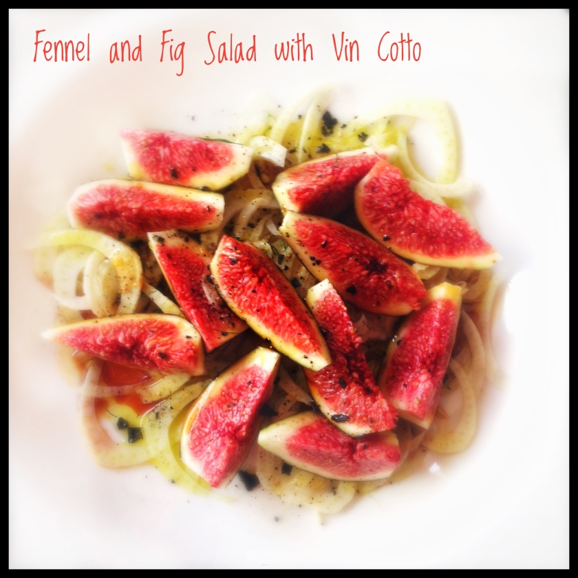 Figs and Roasted Onion Salad