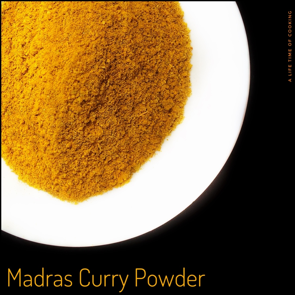 Madras Curry Powder for Quick British-Indian Flavours