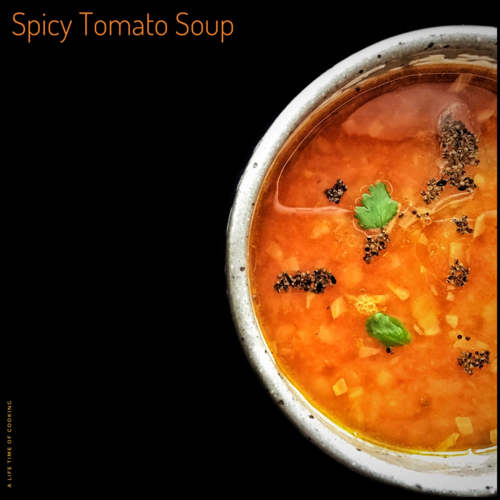 Spicy Tomato Soup Stock
